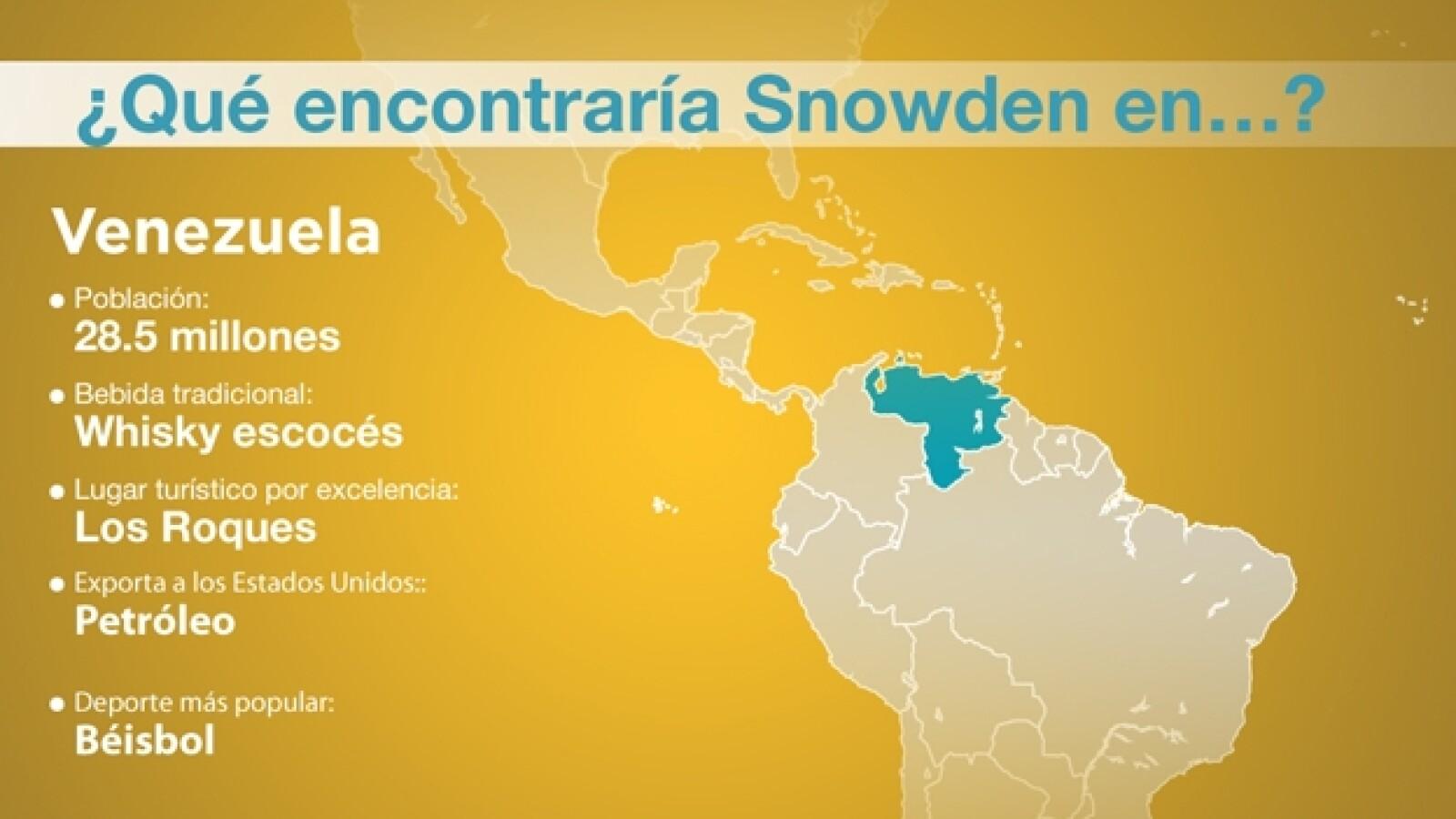 snowden venezuela