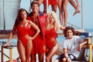 """9/95/ THE CAST OF """"BAYWATCH"""""""