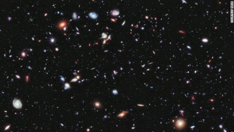 universo mas joven NASA XDF