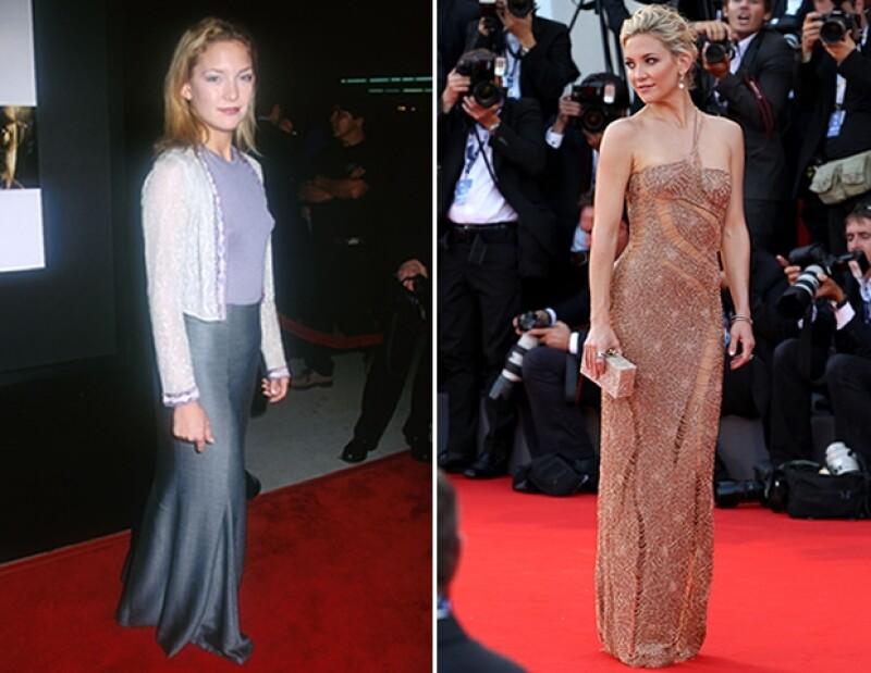 Kate Hudson adora enseñar su espectacular cuerpo en la alfombra roja, pero en algún momento hizo todo lo contrario.