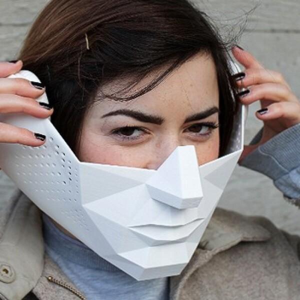 visor y mascara con superpoderes