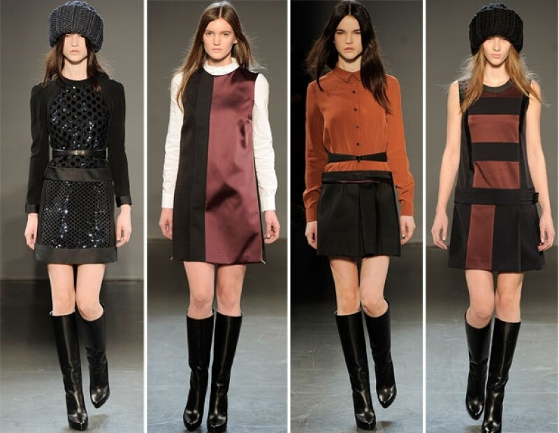 Los diseños son de una sola pieza para evitar pensar en combinaciones de prendas.