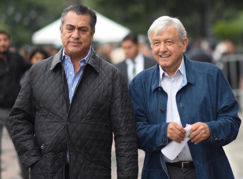AMLO en Nuevo León