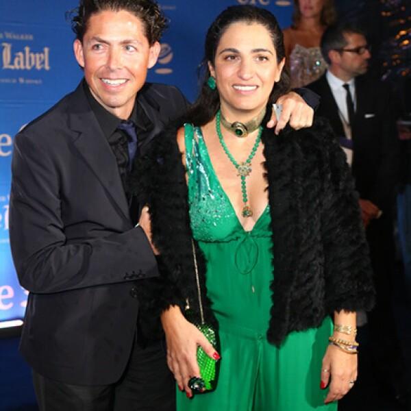 Fernando Romero y Soumaya Slim