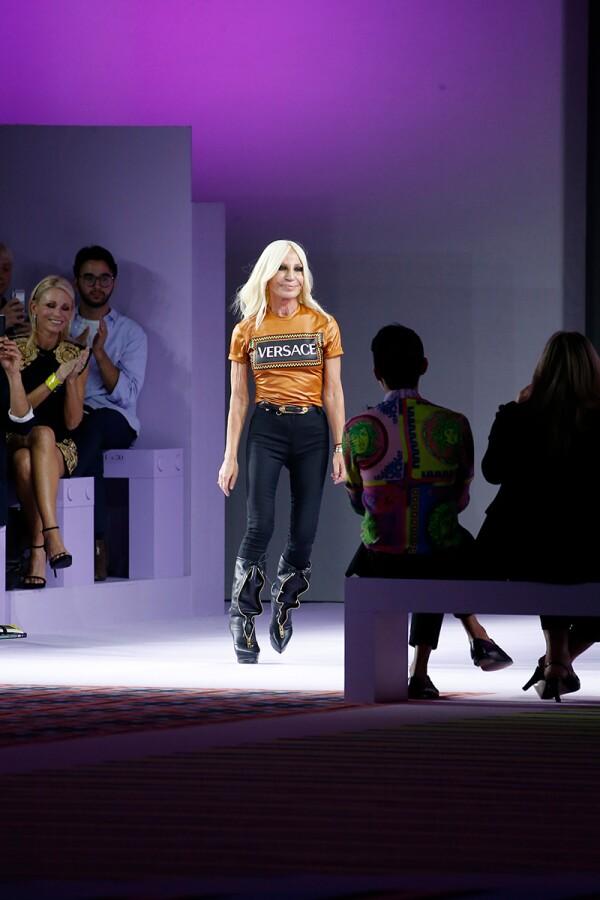 Versace show, Runway, Spring Summer 2019, Milan Fashion Week, Italy - 21 Sep 2018
