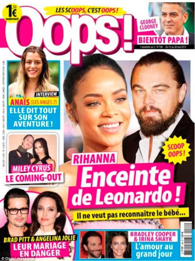 El actor exige 18 mil euros a la publicación francesa Oops! que aseguró que él no reconoce a un supuesto bebé que espera con la cantante.