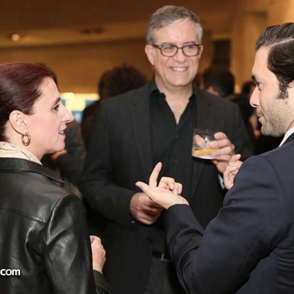 Ana Escalante,Daniel Pastor y Eduardo Cortina