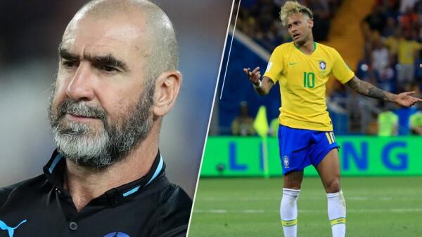 Éric Cantona y Neymar
