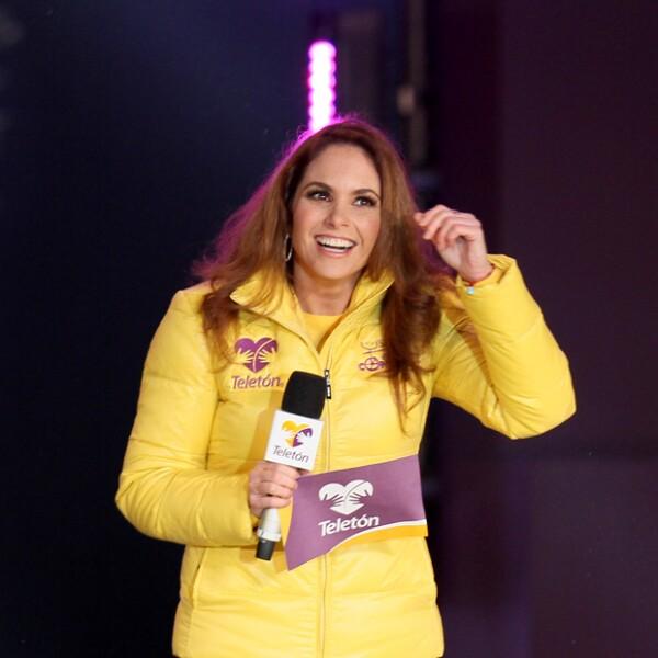 Es el primer año desde 1997 que Lucero no fue presentadora de Teletón.