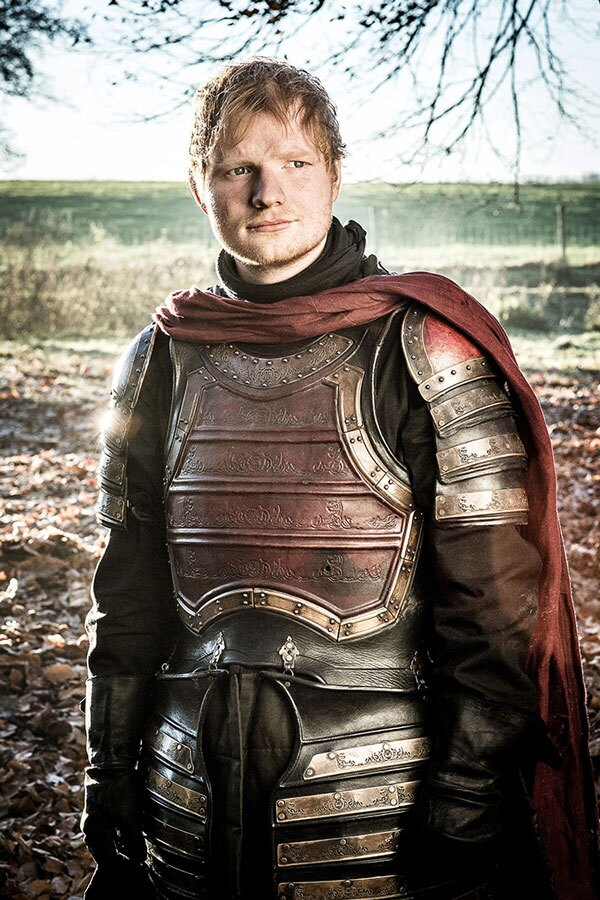 Ed Sheeran en 'Game of Thrones'