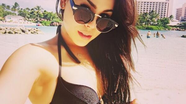La actriz está pasando unos días en Nassau junto con varios amigos y la imagen que compartió en Instagram se ha convertido en una de las más exitosas de su cuenta. ¿Ya la viste?