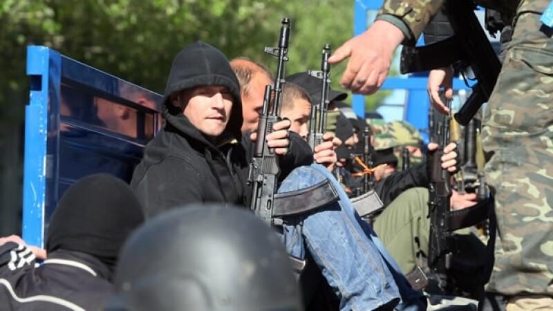 Donetsk separatistas