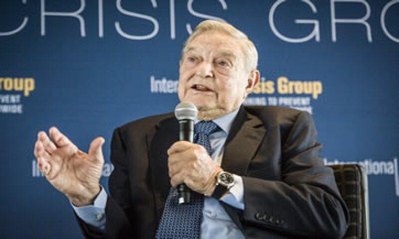 George Soros ya controlaba a través de diversos vehículos alrededor de 3.8% del capital de FCC.  (Foto: AFP )