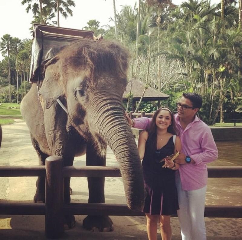 Sherlyn y Gerardo se fueron a Bali el mes pasado.