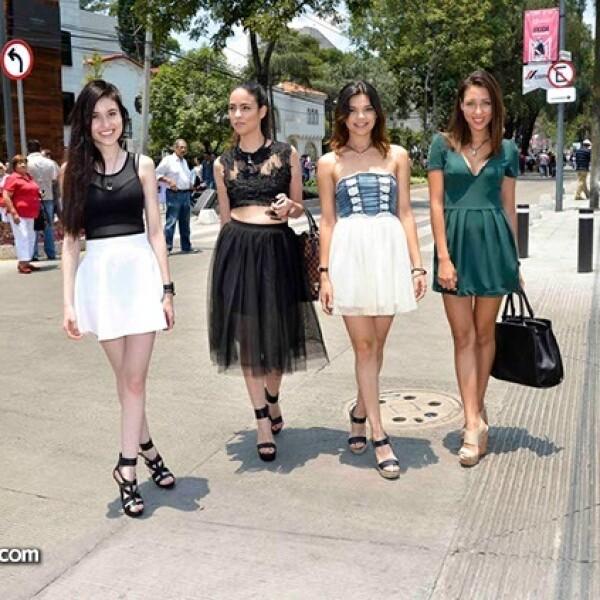 Fernanda Blas,Vianey Rivera,Mirolslava Ibarra y Michelle Morales.