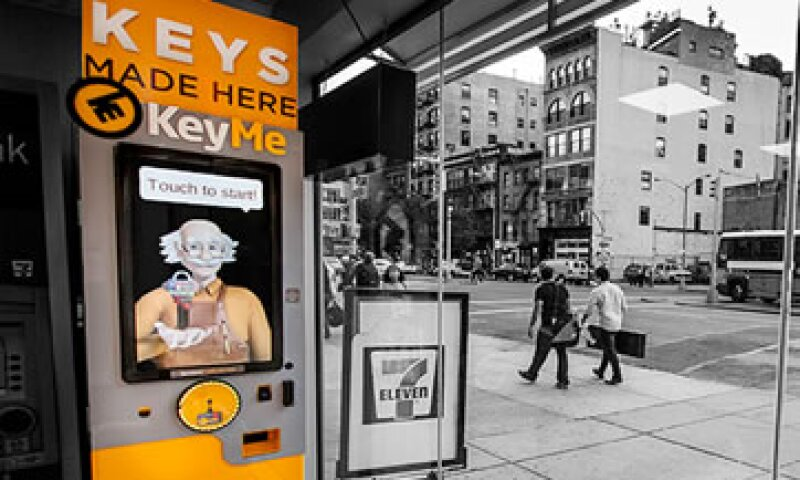 Keys te ofrece un juego de llaves por si las olvidaste. (Foto: Cortesía de CNNMoney/Tomada de KEYME)