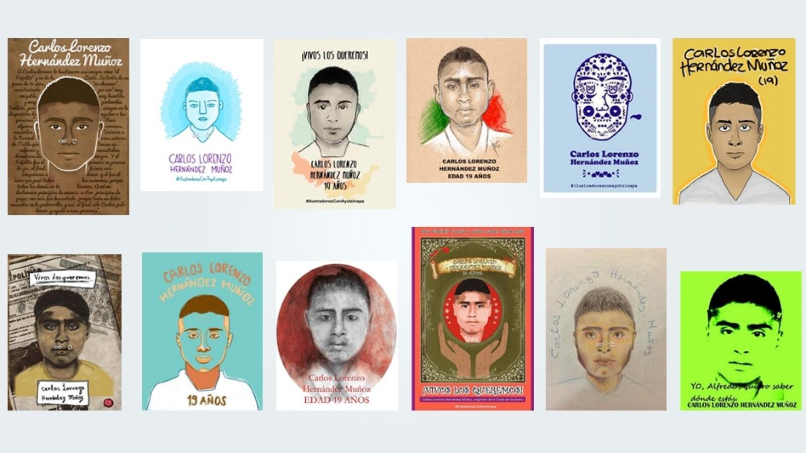 Carlos Lorenzo Hernandez Ayotzinapa