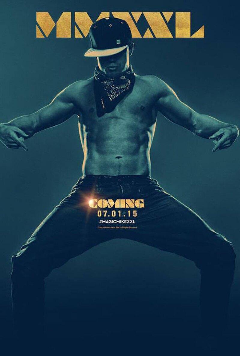 Escenas con muy poca ropa en las que aparecen Channing Tatum, Matt Boomer y el prometido de Sofía Vergara, Joe Manganiello, han sido reveladas en el primer teaser de la famosa película de strippers.