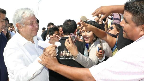 AMLO presenta proyecto Istmo de Tehuantepec