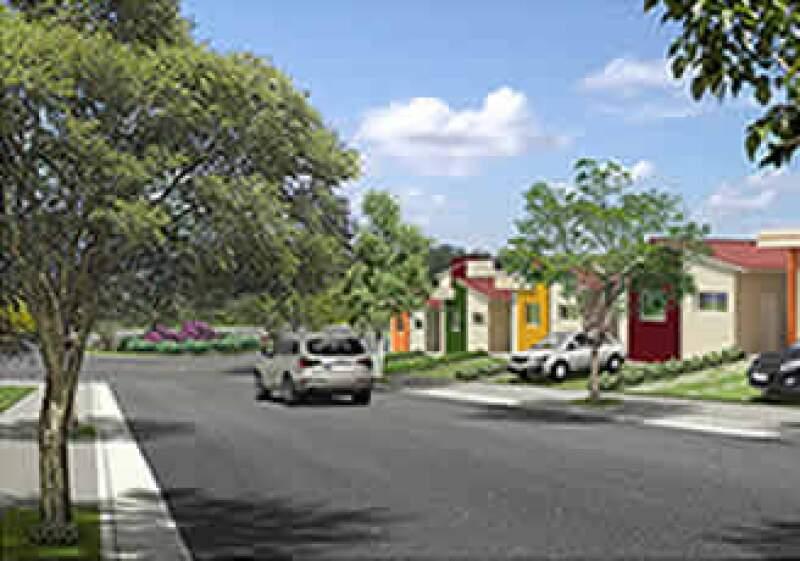 Jardim das Paineiras será un desarrollo de 1,300 viviendas. (Foto: Cortesía Homex)
