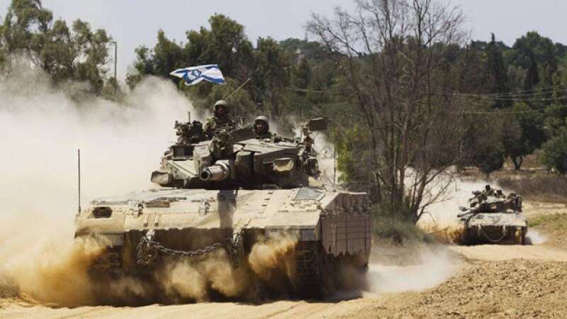 tanques israelies gaza