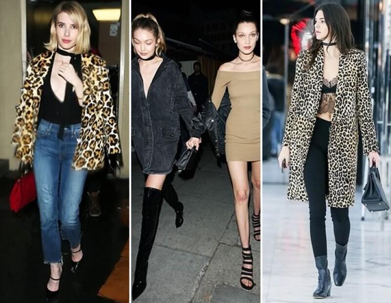 Kendall, Gigi y Chiara dictan que el cuello debe ser el punto central de todo look esta temporada. Haz como ellas y confía en chokers y piezas off-shoulder para crear un outfit muy sexy.