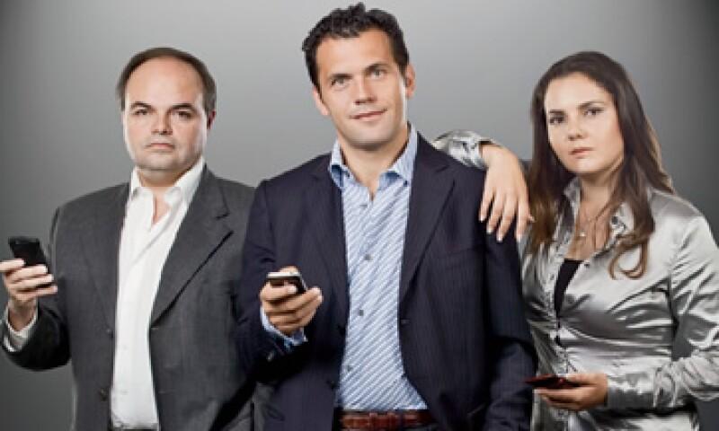 Eugenio Navarro, Maurizio Pisa y Gabriela Prida, Fundadores de iWay (Foto: Alfredo Pelcastre / Mondaphoto)