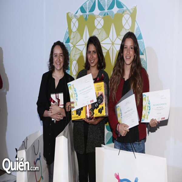 Valeria Charrandi, Carolina Rodríguez e Isabel Pérez Gil