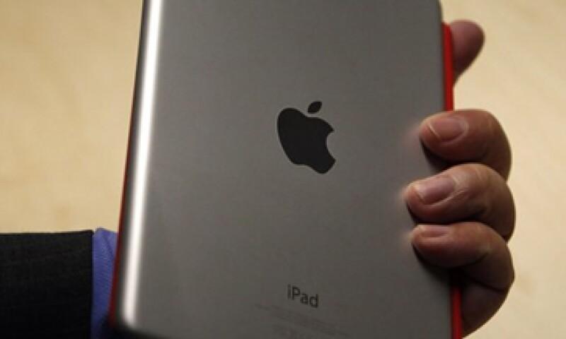 En la iPad Mini, el texto y los gráficos son más pequeños. (Foto: Reuters)