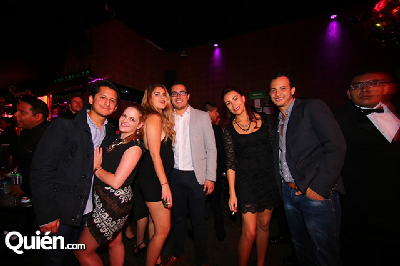 Froylan Hernández,Cecile Boulnois,Karina Rodríguez,Christian Rivera,Ana Castro y Poncho Hinojosa