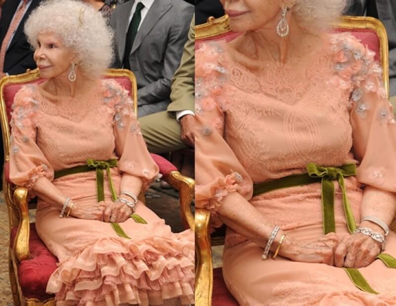 La duquesa lució muy entusiasmada durante su boda.