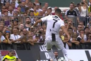 Solo te tomó 8 minutos a Cristiano Ronaldo anotar su primer gol con la Juventus