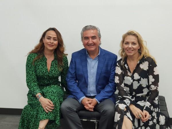 Eliza Puente, directora de Fundación CIMA, Carlos Ruiz Velasco y Ale de Cima.jpg