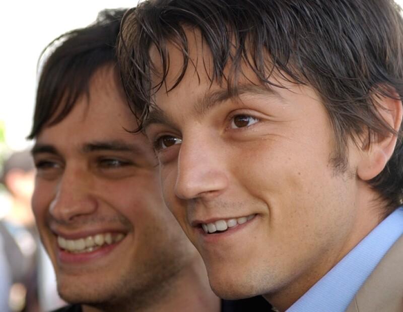 Diego y Gael alcanzaron la fama gracias a Y tu mamá también. En la imagen, durante una entrega de premios en California en marzo de 2003.