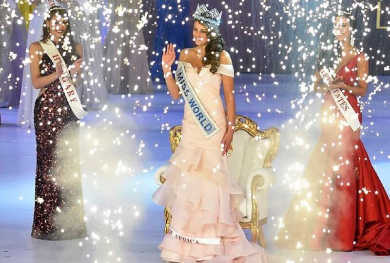 La sudafricana Rolene Strauss es la nueva Miss Mundo. Solo tiene 22 años de edad y es estudiante de medicina.