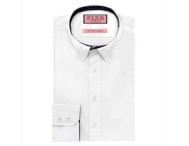 Camisa blanca Thomas Pink.