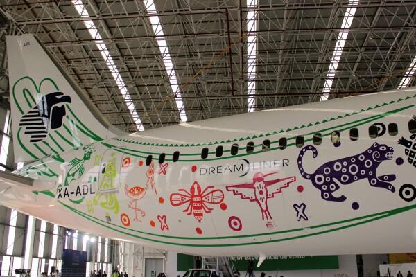 """Aeroméxico Boening 787-9 """"Quetzalcóatl"""" 5"""