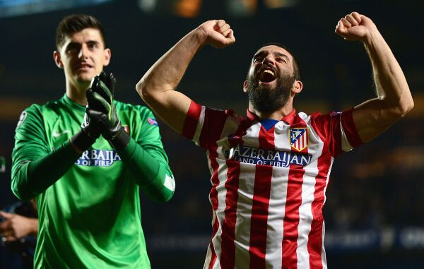 Courtois Atlético de Madrid