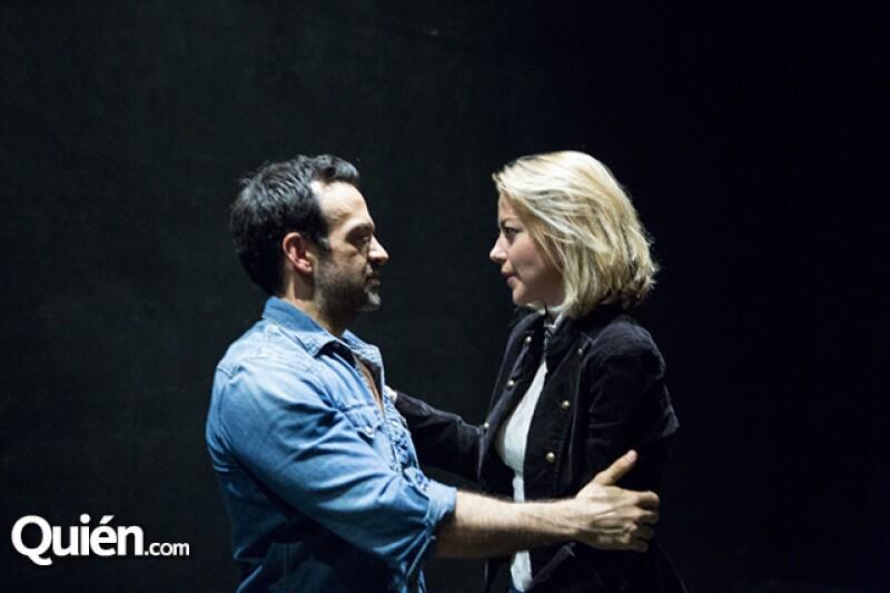 Pablo Perroni invitó a Fernanda Castillo para que formará parte de la historia.