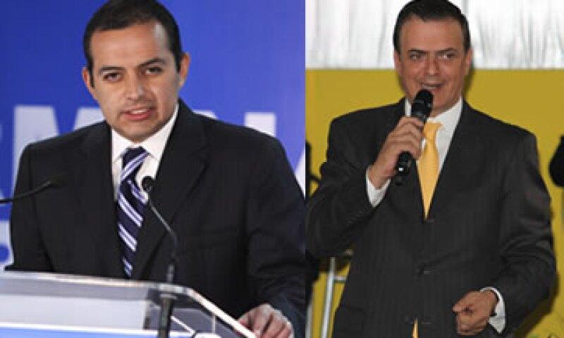 Ernesto Cordero invitó al jefe de Gobierno del DF, Marcelo Ebrard, a unirse a su proyecto rumbo a la presidencia. (Foto: Especial)
