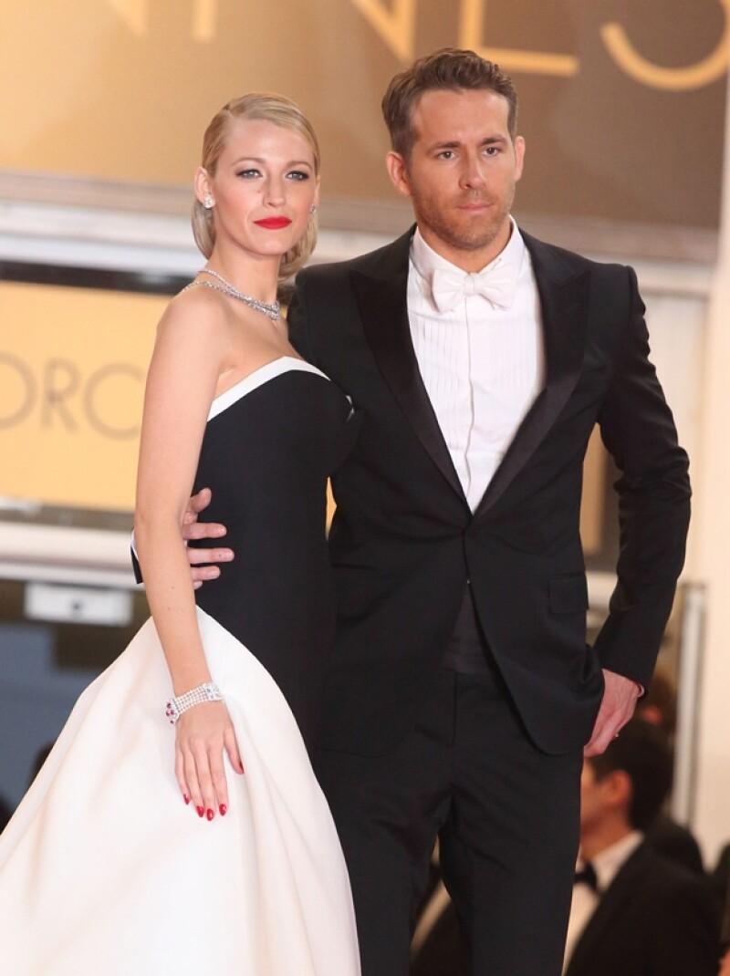 Blake Lively y Ryan Reynolds robaron las miradas en festival de Cannes de este año.