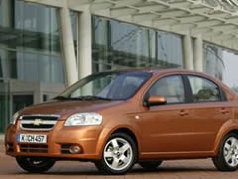 El Aveo de GM incrementó más de 230% sus ventas en lo que va del año.  (Foto: Conduciendo.com)