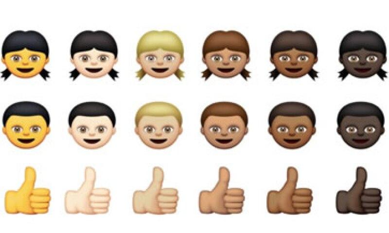 Los emojis tienen en el sistema de Apple desde 2011. (Foto: Tomada de CNNMoney)