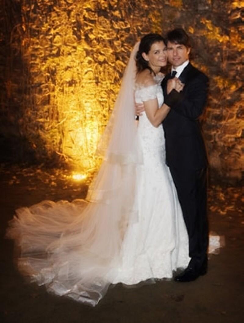 Fue en noviembre de 2006 cuando se casaron en Italia.