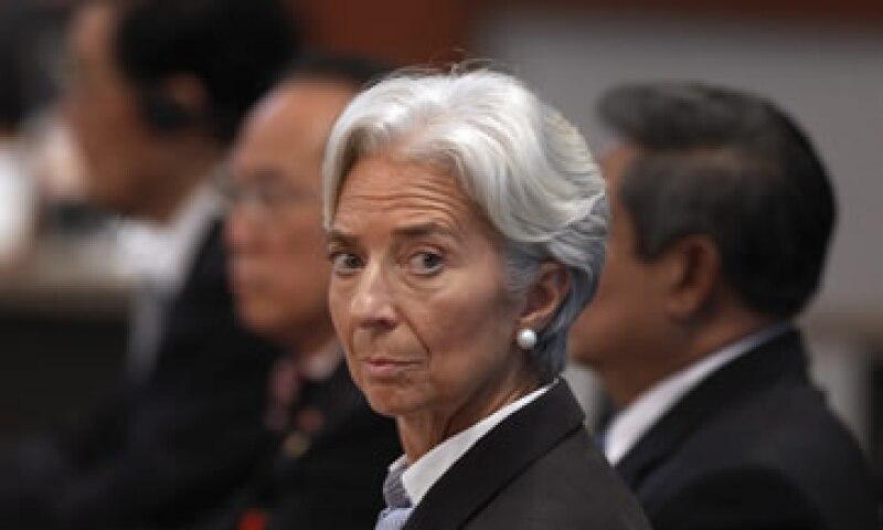 Christine Lagarde estará en Lima el 28 de noviembre y en Brasilia el 1 de diciembre. (Foto: AP)