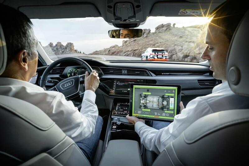 Pruebas Audi