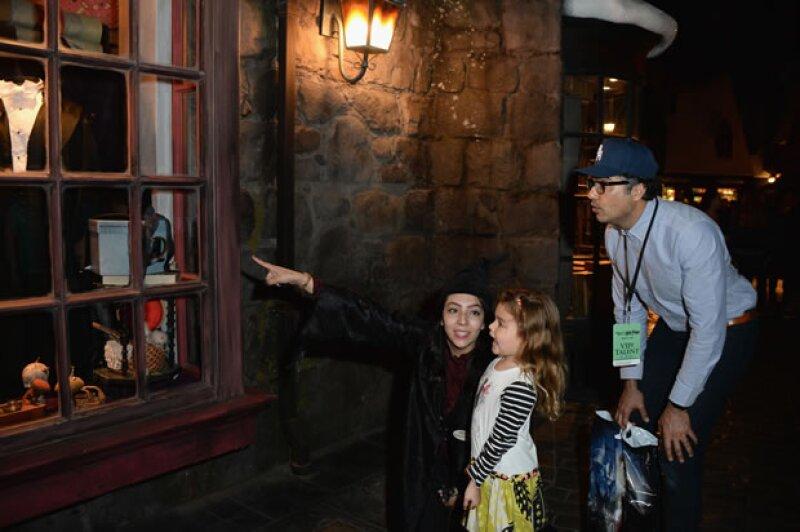 Conociendo la sección Wizarding World Hollywood de Universal Studios.