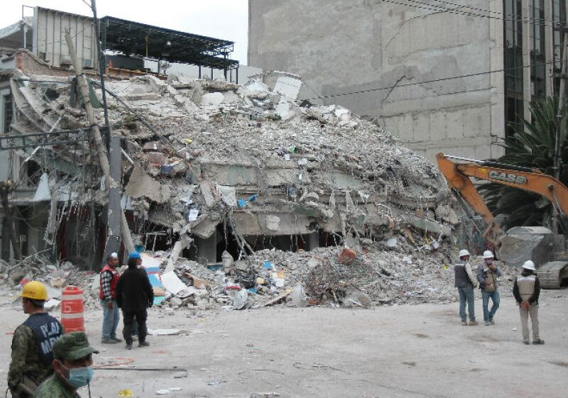 CDMX sismo de 19 de septiembre de 2017