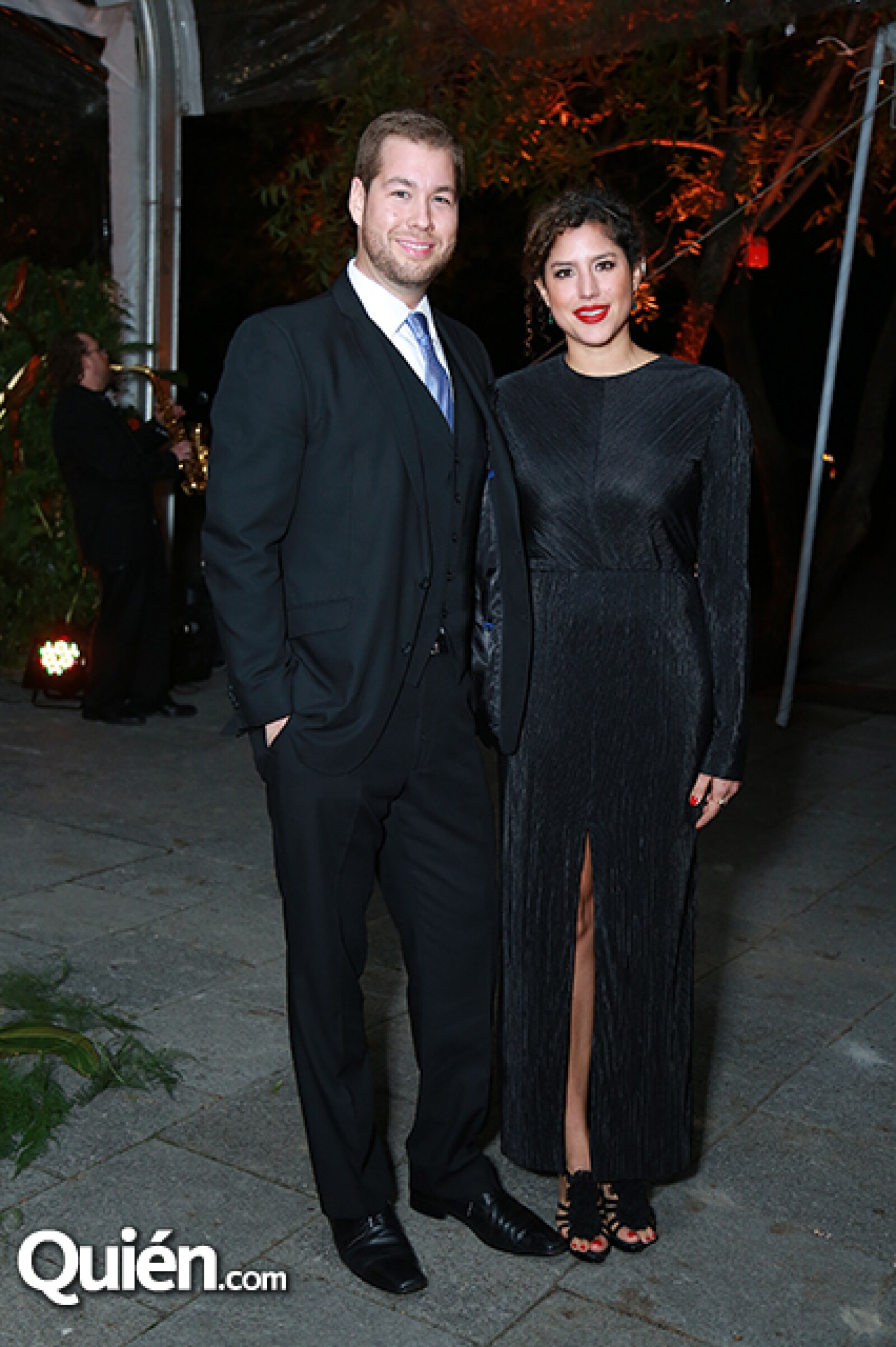 Diego Maldonado y Priscila Baxter