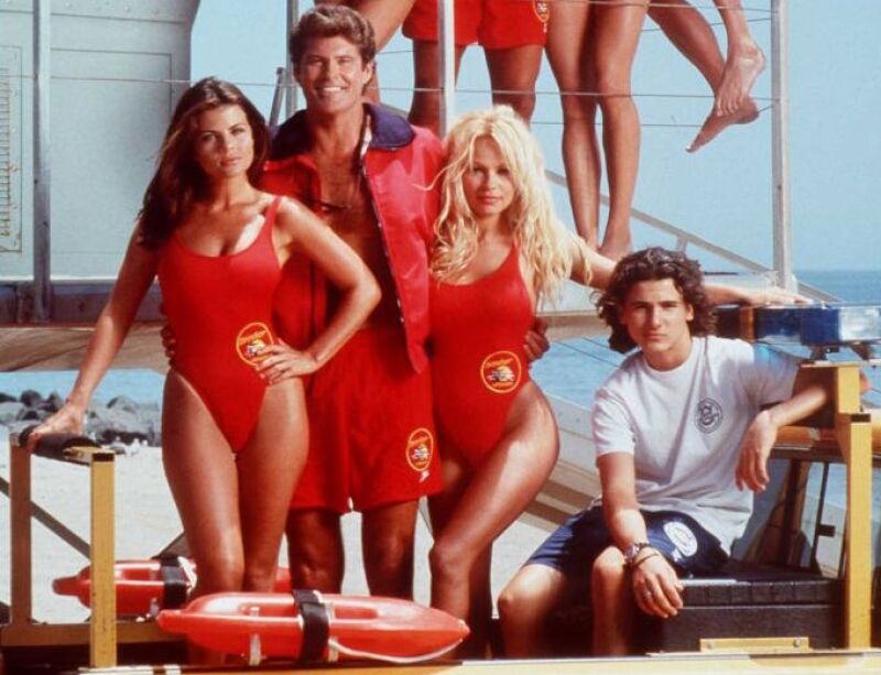 "9/95/ THE CAST OF ""BAYWATCH"""
